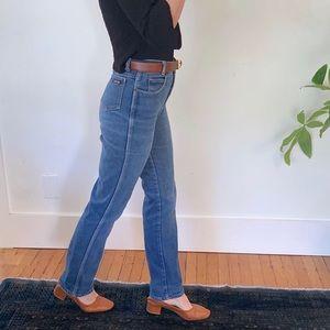 Ultra high waist Calvin Klein vintage denim jeans